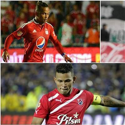 Mensajes de clubes colombianos