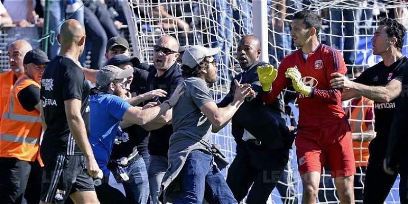 Enfrentamiento Bastia Lyon