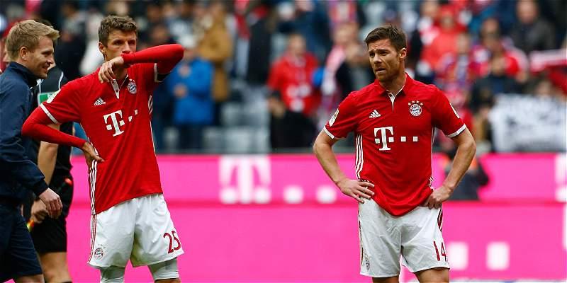 Bayern Múnich apenas empató 2-2 con el Mainz 05, en la Bundesliga