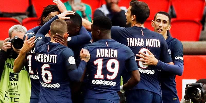 PSG venció 2-0 al Montpellier y obliga a ganar al Mónaco en Liga