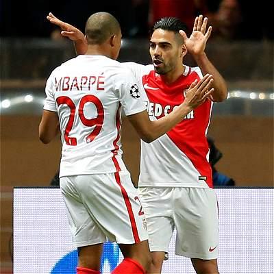 Falcao y Mbappé