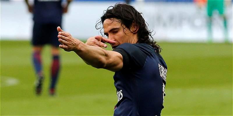 Cavani renovó su contrato con el PSG y estará hasta el 2020