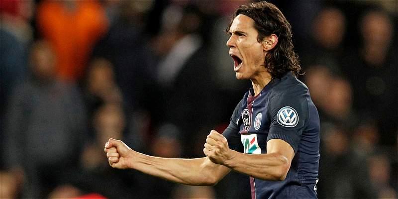 Édinson Cavani, candidato a mejor jugador de la Liga de Francia
