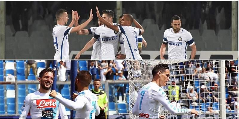 Inter-Nápoles y el derbi entre Roma y Lazio destacan en la Serie A