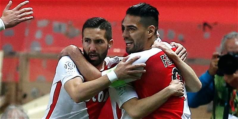 ¡Falcao, dos goles y acaricia el título con Mónaco! 4-0 sobre Lille