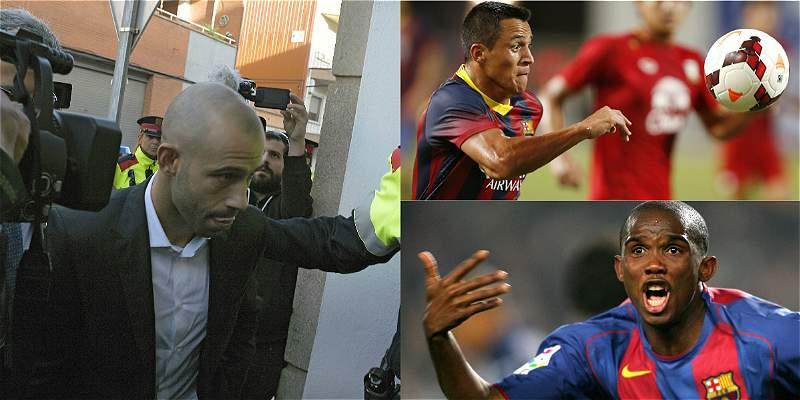 Otros futbolistas que han tenido líos fiscales en España, como Falcao