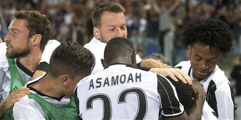 Juventus, primer paso hacia al triplete en final de Copa contra Lazio