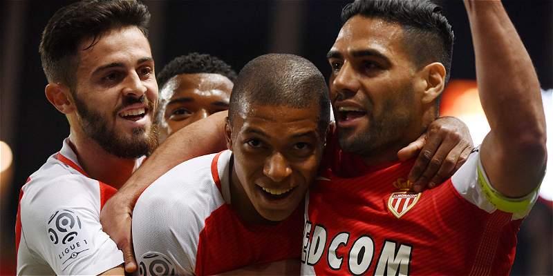 ¡Falcao García es campeón con el Mónaco! Vencieron 2-0 a Saint-Etienne