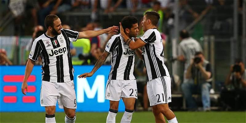 Cuadrado ganó la Copa de Italia con Juventus, que venció 2-0 a Lazio