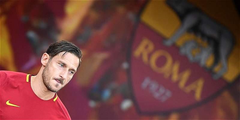 Adiós a Franceso Totti