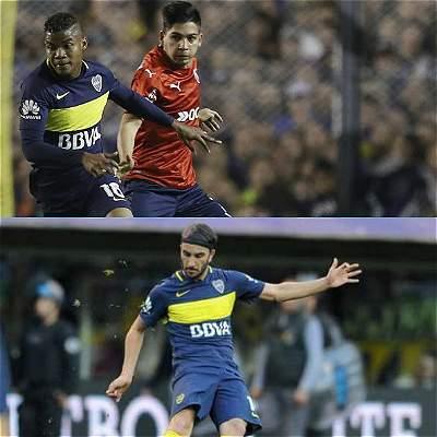 Barrios, Fabra y Pérez podrían ser campeones este martes con Boca