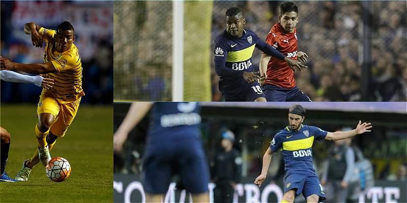 Los colombianos de Boca Juniors