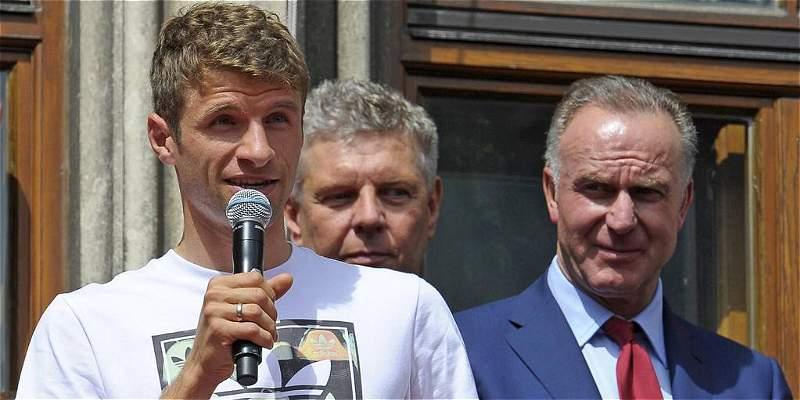 \'Müller es intransferible y perfecto para el Bayern\': Rummenigge