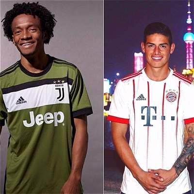 Ni una ni dos, tres son las camisetas de los grandes clubes de Europa