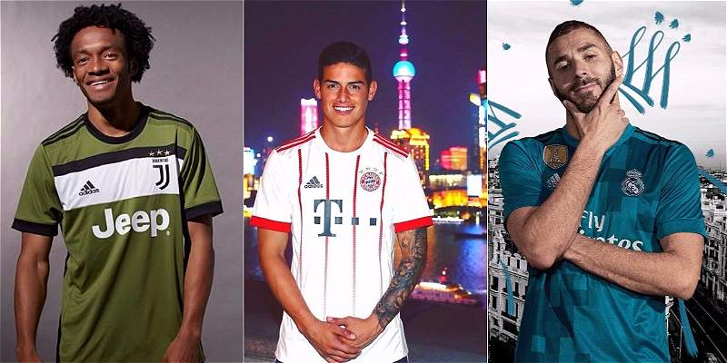Tercer uniforme clubes de europa