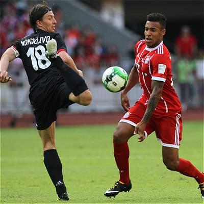Milán golea 4-0 a Bayern Múnich en China, con James desde el banquillo