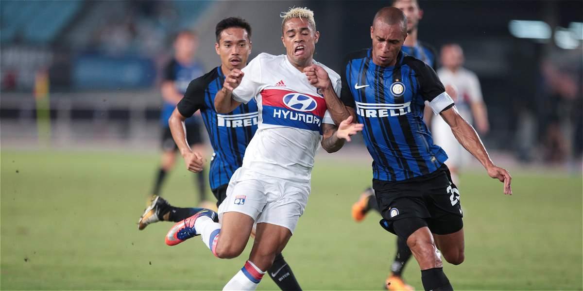 Con Jeison Murillo 45 minutos, Inter venció 1-0 al Olympique de Lyon