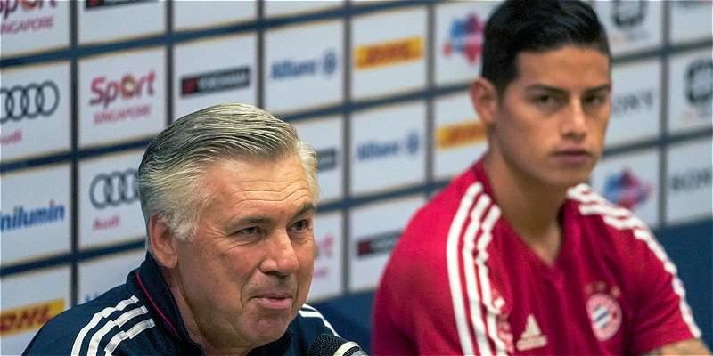 \'James tiene una calidad fantástica que nos da algo extra\': Ancelotti