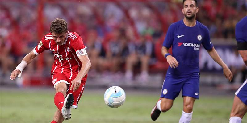 Bayern Múnich se reivindicó y venció 3-2 a Chelsea con buen juego