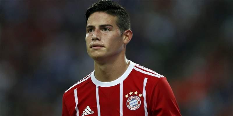 James, en Bayern Múnich