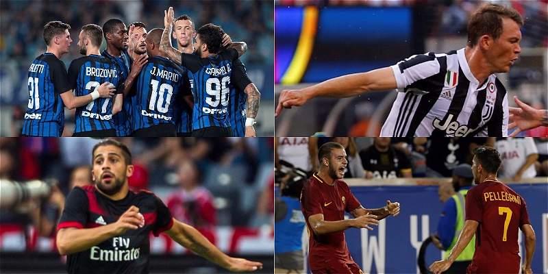Resultado de imagen de Serie A (Italia) 2017-18