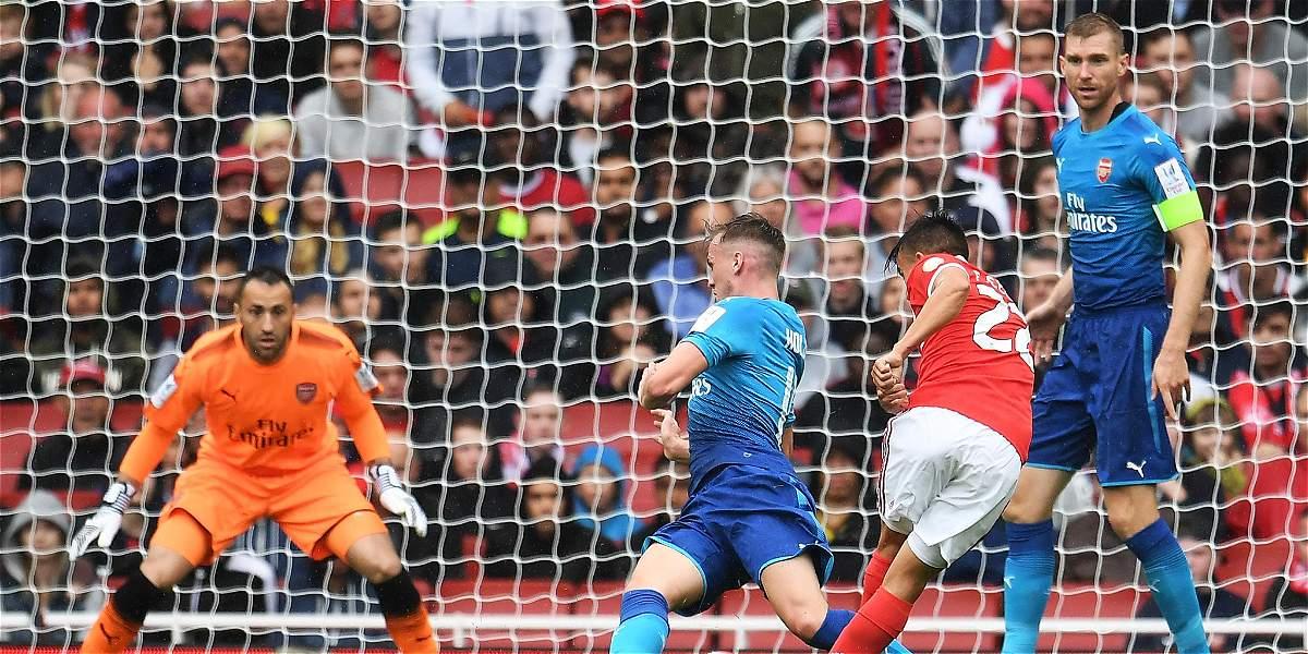 David Ospina fue titular en la victoria del Arsenal 5-2 sobre Benfica