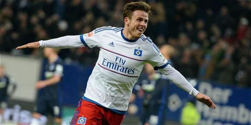La celebración de gol que a Nicolai Müller le costó 7 meses de baja