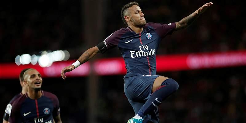 Neymar reactiva al París Saint Germain, que vence 6-2 al Toulouse