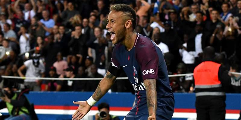 Neymar, con sus gambetas y goles tiene \'boquiabierta\' a toda Francia