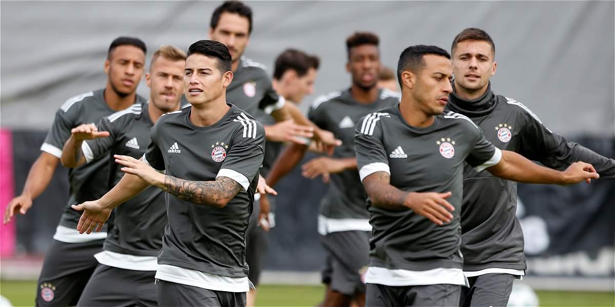 Bayern, con James en lo convocados, visita a un decaído Mainz