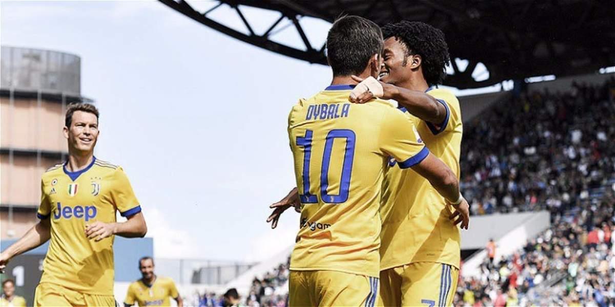 Asistencia de Cuadrado y 'show' de Dybala: Juventus 1-3 al Sassuolo