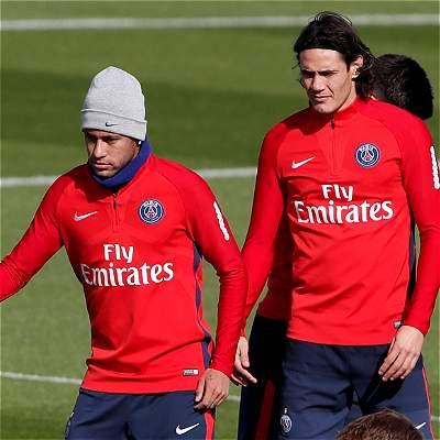 Neymar se disculpó con sus compañeros por la pelea con Cavani