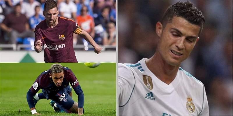 Cristiano Ronaldo contra Messi y Neymar: historia sin fin del fútbol