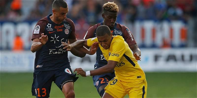 PSG, sin Neymar, empató 0-0 en su visita al Montpellier