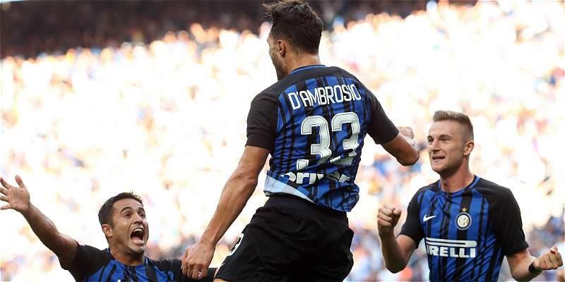 Inter sigue en racha, le ganó 1-0 al Génova y suma su quinta victoria