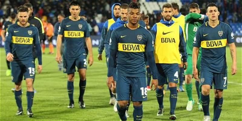 Los tres colombianos de Boca sin Copa: 0-1 frente a Rosario Central
