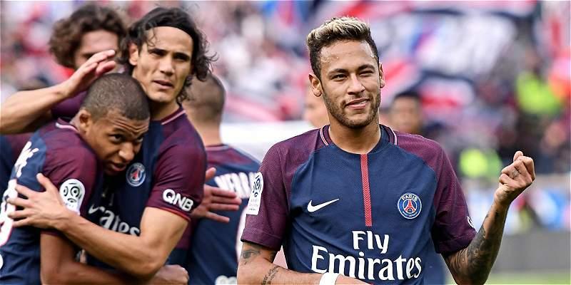 Paseo en París: PSG goleó 6-2 al Bordeaux con el brillo de la \'MCN\'