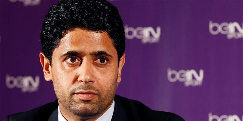 Investigan a Nasser Al-Khelaïfi, presidente de PSG, por derechos de TV