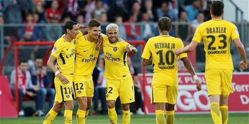 Agónico triunfo del PSG le da ventaja en el liderato: 1-2 al Dijon