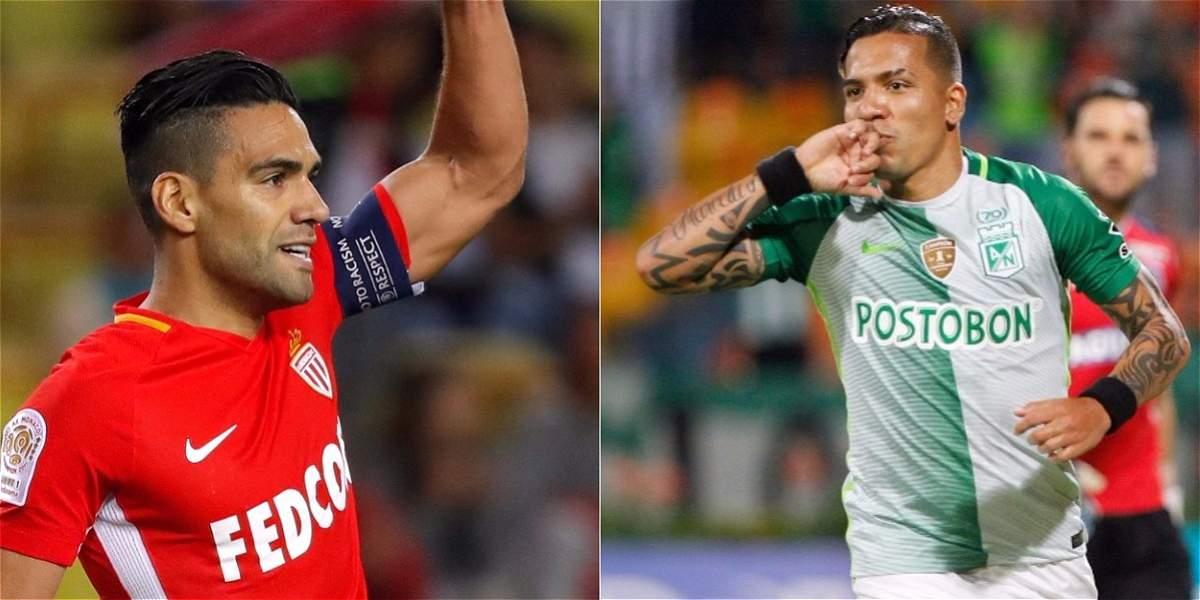 Falcao y Dayro, entre los 20 goleadores del mundo en lo que va de 2017