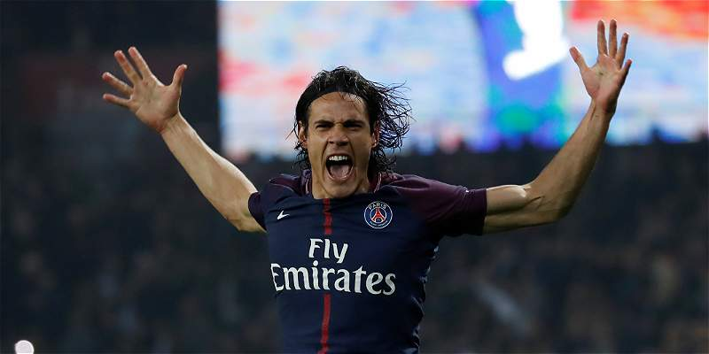 Cavani comandó al PSG, que derrotó 3-0 al Niza en Liga de Francia