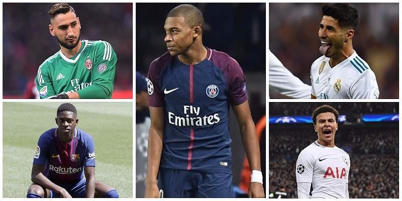 Los 12 estrellas jovenes del fútbol