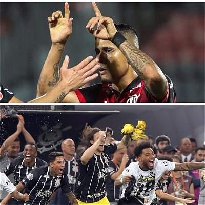 Rueda y Flamengo reciben al campeón del Brasileirao: Corinthians