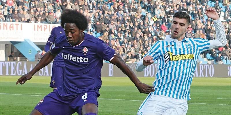 90 minutos para Carlos Sánchez en el empate 1-1 de Fiorentina y Spal