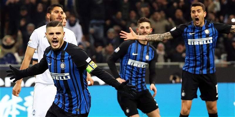 Doblete de Icardi para la victoria del Inter 2-0 frente a la Atalanta