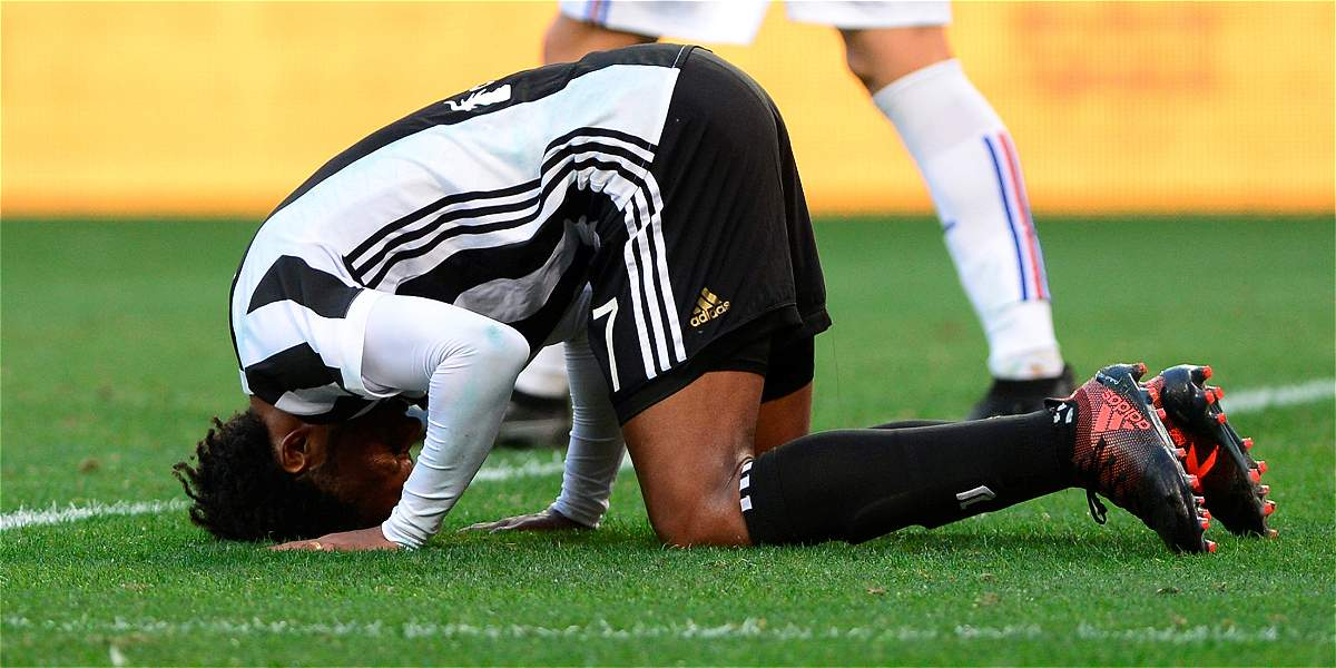 Cuadrado se perdería el Juventus vs Crotone por molestias físicas