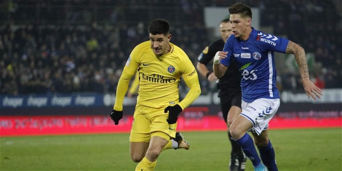 Fin del invicto del PSG: cayó 2-1 con el recién ascendido Estrasburgo