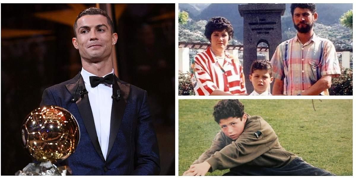 La historia detrás del éxito deportivo de Cristiano Ronaldo