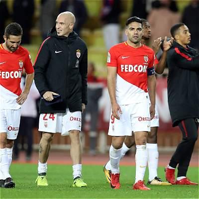 Mónaco, con Falcao los 90 minutos, goleó 0-4 al Saint-Ettiene