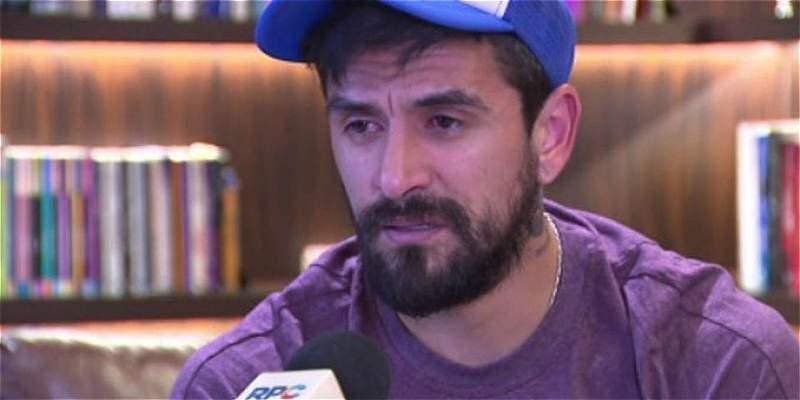 Lucho González lloró al ser acusado por su esposa de intentar matarla